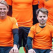 NLD/Zeist/20191123 - Voetbal selectiedag Nederlandse artiesten, John ewbank en  Roel van Velzen en