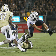 ORLANDO, FL - OCTOBER 09:  Paul Lasike #33 of the Brigham Young Cougars runs the ball at Bright House Networks Stadium on October 9, 2014 in Orlando, Florida. (Photo by Alex Menendez/Getty Images) *** Local Caption *** Paul Lasike