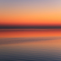 """""""Soothing""""<br /> <br /> Peaceful, calm, pastel hued sunrise over Lake Huron!!<br /> <br /> The Great Lakes by Rachel Cohen"""