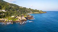 Mahe, Seychellys Coastline