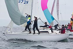 Silvers Marine Scottish Series 2017<br /> Tarbert Loch Fyne - Sailing<br /> <br /> GBR8872N, White Magic, David Matthews, Sunderland Yacht Club, Sonata OD<br /> <br /> Credit: Marc Turner / CCC