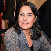 NLD/Amstrdam/20130123 - Nationale Voorleesdag op de basisschool Corantijn te Amsterdam, Dione de Graaf