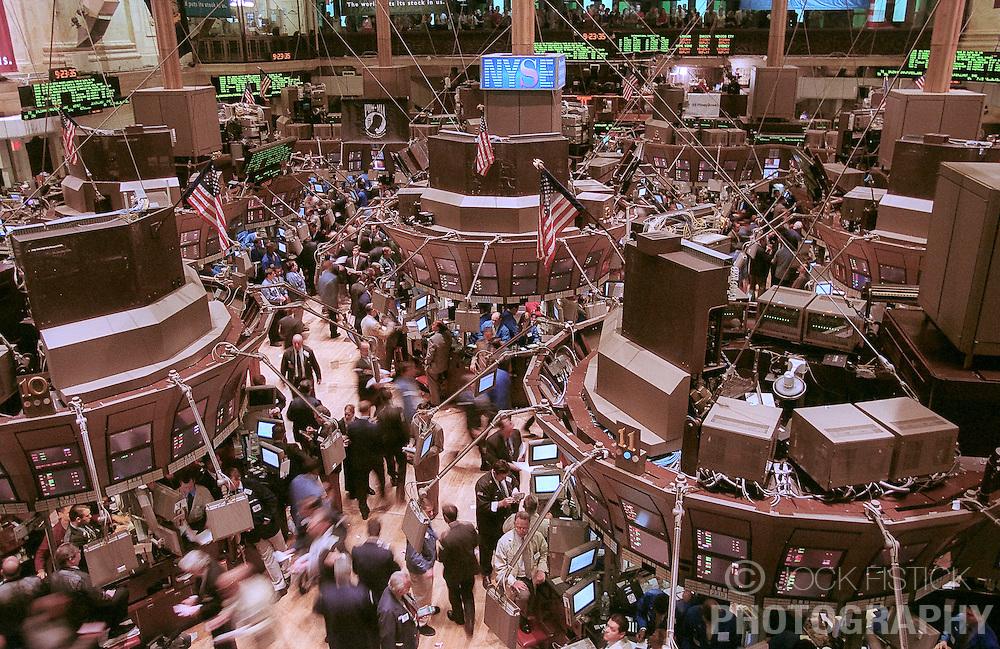 SEPT-11-2000 - Trading floor of the New York Stock Exchange - New York, NY. (Photo © Jock Fistick)