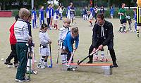 Amstelveen -  clinic met oa Roderick Musters . NK LG Hockey KNHB in samenwerking met de Dirk Kuyt Foundation. . COPYRIGHT KOEN SUYK