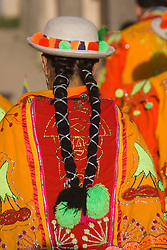 Pentecostes Festival held annually in May, Ollantaytambo, Peru, South America