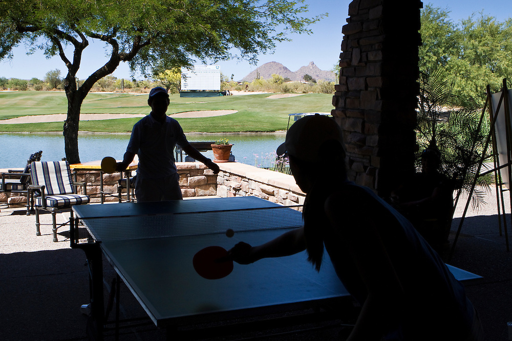 Reminders that AJGA players are still kids is evident in the game room that is set up at the tournament and provides a social atmosphere away from the course where the teens can play ping pong, foosball and air hockey.