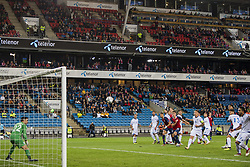 September 6, 2018 - Oslo, NORWAY - 180906 Stefan Johansen of Norway scores 2-0 during the Nations League match between Norway and Cyprus on September 6, 2018 in Oslo..Photo: Vegard Wivestad Grøtt / BILDBYRÃ…N / kod VG / 170219 (Credit Image: © Vegard Wivestad GrØTt/Bildbyran via ZUMA Press)