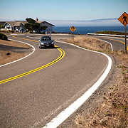 A view of a bay on the Pacific Ocean as seen in Albion, California on September 10, 2013. (AP Photo/Alex Menendez)