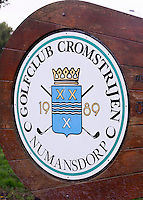 NUMANSDORP - Logo . Golfclub Cromstrijen. COPYRIGHT KOEN SUYK