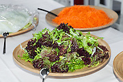 party outdoors, tasty appetizer, green salad