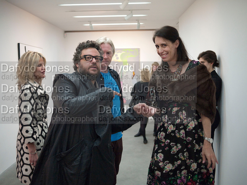 LORI TEDESCO; HALUK AKAKCE; LAURA GOLDSTEIN, Haluk Akakce; Coming Home. Exhibition of work at the Alison Jacques Gallery. 29 April 2010. *** Local Caption *** -DO NOT ARCHIVE-© Copyright Photograph by Dafydd Jones. 248 Clapham Rd. London SW9 0PZ. Tel 0207 820 0771. www.dafjones.com.<br /> LORI TEDESCO; HALUK AKAKCE; LAURA GOLDSTEIN, Haluk Akakce; Coming Home. Exhibition of work at the Alison Jacques Gallery. 29 April 2010.