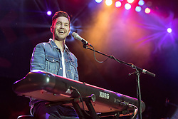 July 2, 2017 - Milwaukee, Wisconsin, U.S - ANDY GRAMMER performs live at Henry Maier Festival Park during Summerfest in Milwaukee, Wisconsin (Credit Image: © Daniel DeSlover via ZUMA Wire)