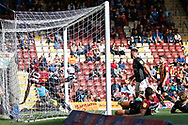 Goal scored by Charlie Goode of Northampton Town  during the EFL Sky Bet League 2 match between Bradford City and Northampton Town at the Utilita Energy Stadium, Bradford, England on 7 September 2019.
