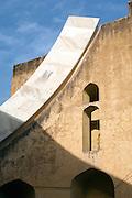 The Jantar Mantar, the Jaipur Observatory, Jaipur, Rajasthan, India