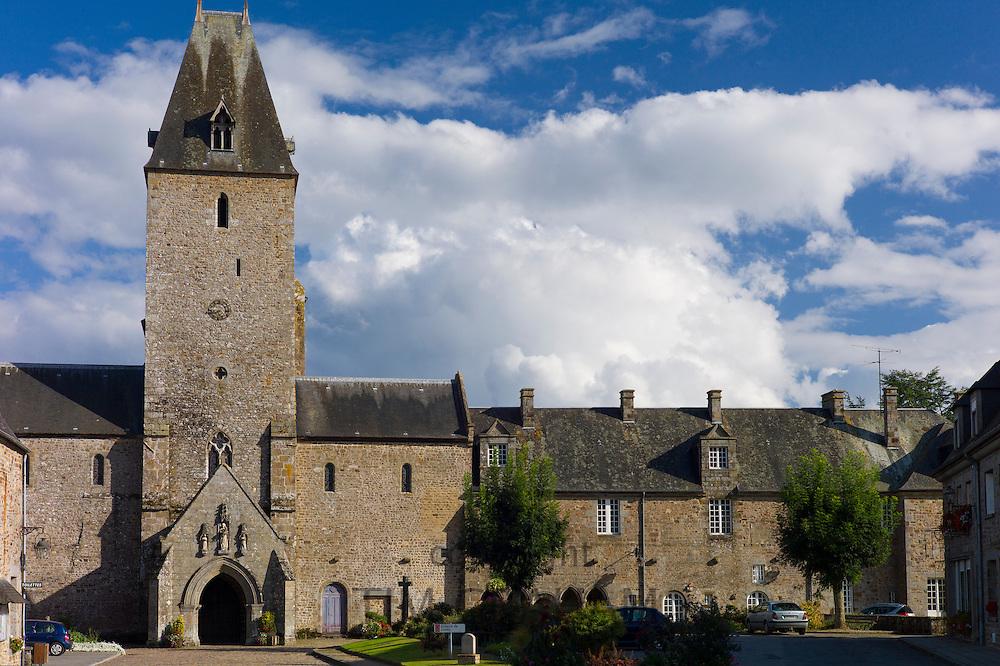Abbey of Lonlay, Abbaye de Lonlay  in Orne, Normandy, France