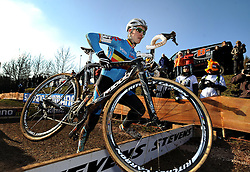 29-01-2011 VELDRIJDEN: WORLD CHAMPIONSHIP CYCLO CROSS: SANKT WENDEL<br /> Belgian VAN TICHELT Yorben in action during the junior Cyclo Cross World Championships<br /> ***NETHERLANDS ONLY***<br /> ©2010- FRH-nph / Laurent Dubrule