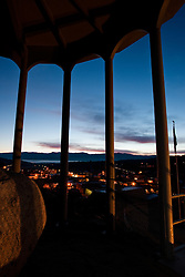 """""""Truckee Rocking Stone Sunrise""""- This sunrise over Truckee, CA was photographed from the rocking stone tower."""