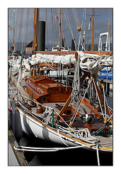 Day three of the Fife Regatta, Cruise up the Kyles of Bute to Tighnabruaich<br /> <br /> Viola, Yvon Rautureau, FRA, Gaff Cutter, Wm Fife 3rd, 1908<br /> <br /> * The William Fife designed Yachts return to the birthplace of these historic yachts, the Scotland's pre-eminent yacht designer and builder for the 4th Fife Regatta on the Clyde 28th June–5th July 2013<br /> <br /> More information is available on the website: www.fiferegatta.com