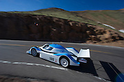 June 26-30 - Pikes Peak Colorado.  Janis Horeliks works through sector 2 on the mountain during practice for the 91st running of the Pikes Peak Hill Climb.
