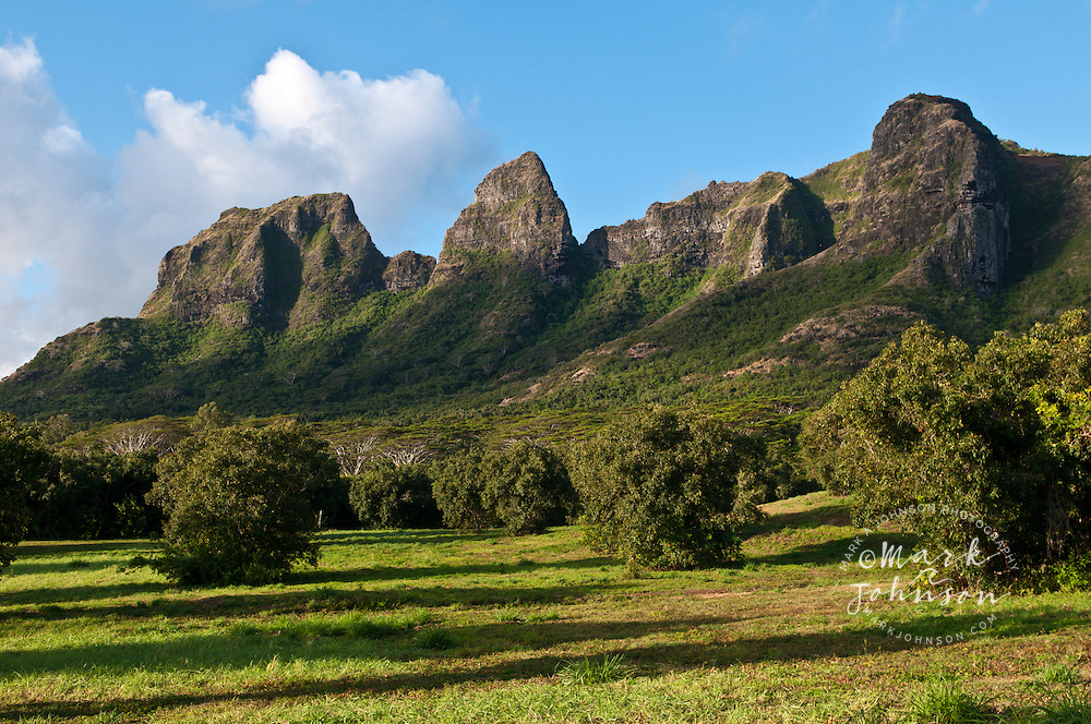 Anahola Mountains, Kauai, Hawaii
