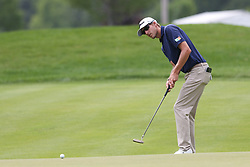 June 22, 2018 - Cromwell, Connecticut, United States - Richy Werenski putts the 8th green during the second round of the Travelers Championship at TPC River Highlands. (Credit Image: © Debby Wong via ZUMA Wire)