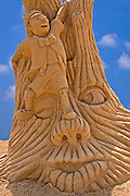 Pinocchio, Sand sculpture festival on the Haifa beach, July 2006