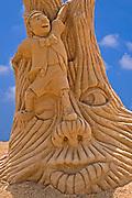 Pinocchio, Sand sculpture festival on the Haifa beach, July 2006