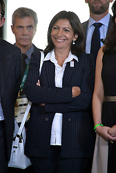 Anne Hidalgo attends the ceremony honoring retired Brazilian football player Paulo Cézar Caju with the French Legion of Honor from French President Francois Hollande at the Sofitel Rio De Janeiro on August 4, 2016 in Rio De Janeiro, Brazil. Photo by Lionel Hahn/ABACAPRESS.COM