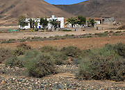 Remote small house in semi-desert near Pajara, Fuerteventura, Canary Islands, Spain