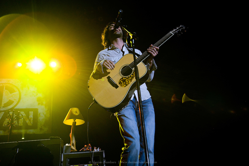 Nic Cowan performs as one of the opening acts for Zac Brown's Breaking Southern Ground Tour