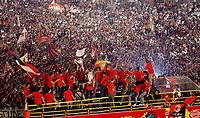Milano 24 maggio 2007<br /> Il Milan festeggia la coppa Campioni davanti ai tifosi in piazza Duomo a Milano<br /> Foto Inside/Paco Serinelli