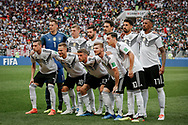 Team of Germany before the 2018 FIFA World Cup Russia, Group F football match between Germany and Mexico on June 17, 2018 at Luzhniki Stadium in Moscow, Russia - Photo Thiago Bernardes / FramePhoto / ProSportsImages / DPPI