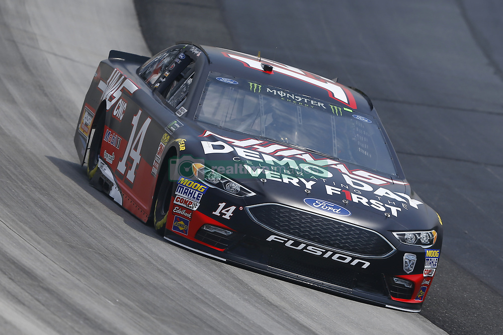 May 4, 2018 - Dover, Delaware, United States of America - Clint Bowyer (14) brings his car through the turns during practice for the AAA 400 Drive for Autism at Dover International Speedway in Dover, Delaware. (Credit Image: © Chris Owens Asp Inc/ASP via ZUMA Wire)