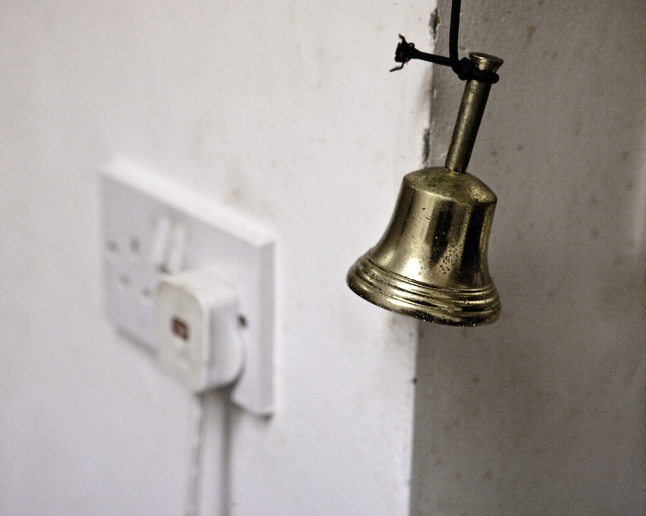 Calling Bell and power source at a indian take away