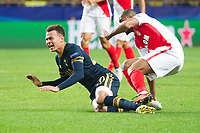 Football - 2016 / 2017 UEFA Champions League - Group E: Tottenham Hotspur vs. AS Monaco<br /> <br /> Dele Alli of Tottenham Hotspurs is brought down by Djibril Sidibe of Monaco at the Stade Louis II in Monaco<br /> <br /> colorsport/winston bynorth