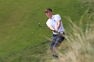 Ronan Cowhey (Blackrock College) on the 7th during the Final of the Irish Schools Senior Championship at Portstewart Golf Club, Portstewart, Co Antrim on Tuesday 23rd April 2019.<br /> Picture:  Thos Caffrey / www.golffile.ie