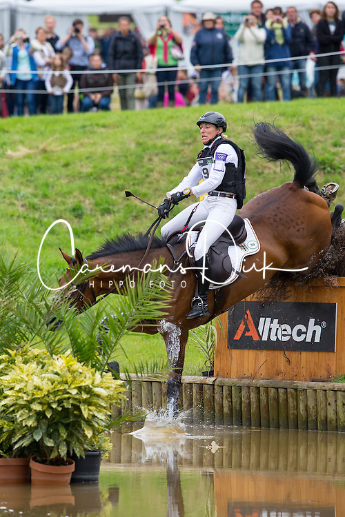 Ingrid Klimke, (GER), FRH Escada JS - Eventing Cross Country test - Alltech FEI World Equestrian Games™ 2014 - Normandy, France.<br /> © Hippo Foto Team - Leanjo de Koster<br /> 31/08/14
