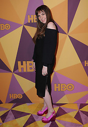 07 January 2018 - Beverly Hills, California - Lena Dunham. 2018 HBO Golden Globes After Party held at The Beverly Hilton Hotel in Beverly Hills. Photo Credit: Birdie Thompson/AdMedia