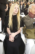Avril Lavigne, Chanel couture fashion show. Grand Palais, Ave Winston Churchill. Paris. 24  January  2006.  ONE TIME USE ONLY - DO NOT ARCHIVE  © Copyright Photograph by Dafydd Jones 66 Stockwell Park Rd. London SW9 0DA Tel 020 7733 0108 www.dafjones.com