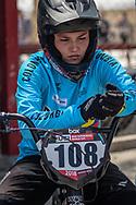 2018 UCI BMX Supercross<br /> Round 7 Santiago Del Estero (Argentina)<br /> Elite Women<br /> Practice<br /> #108 (BOLLE CARRILLO Gabriela) COL