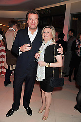 MARK STEINBERG and CLAIRE GERMAN MD of the Design Centre at the London Design Week 2013 Party, held at the Design Centre, Chelsea Harbour, London SW10 on 18th March 2013.