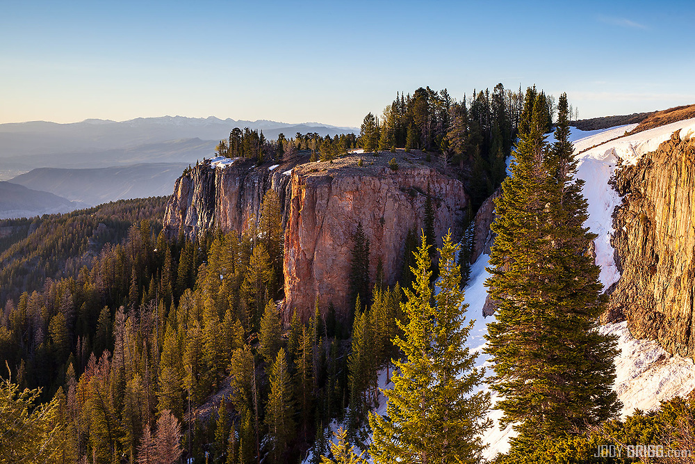 Sunrise in the southern Flat Tops Wilderness Area