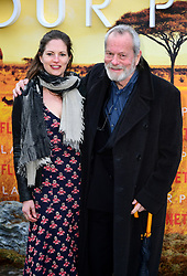 Holly Gilliam and Terry Gilliam attending the global premiere of Netflix's Our Planet, held at the Natural History Museum, London.
