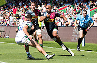 Rugby Union -2020/2021 Gallagher Premiership - Round 22 -<br />Harlequins vs Newcastle Falcons - The Stoop<br /><br />Aaron Morris in action