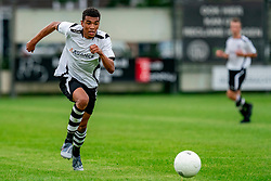 Guillermo Rosalia of VV Maarssen in action. Friendly match against EDO and Maarssen lost the home match with 3-0 on 20 August 2020 in Maarssen.