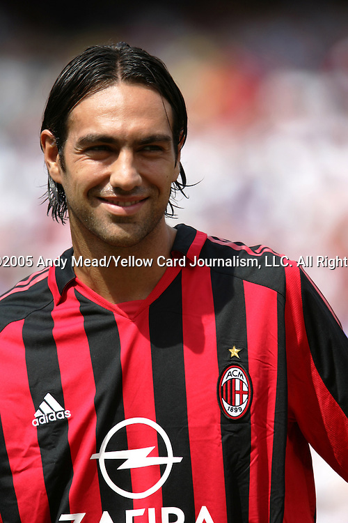 31 July 2005: Alessandro Nesta. Chelsea FC of England and AC Milan of Spain tied 1-1 at Giants Stadium in East Rutherford, New Jersey in an international friendly soccer match as part of AEG's 2005 World Series of Football. .