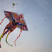 Kites flying, Ho Chi Minh City, Vietnam