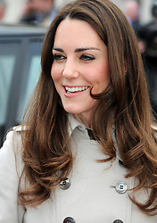 Kate Middleton is seen outside Belfast City Hall, Belfast during a visit to Northern Ireland.