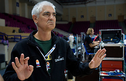 Doctor dr. Slobodan Macura  at practice of Slovenian National Basketball team in Arena Torwar two days before the beginning of the Eurobasket 2009, on September 05, 2009 in Warsaw, Poland. (Photo by Vid Ponikvar / Sportida)