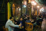 El Fishawi's Coffee house in Khan al-Khalili Cairo, Egypt